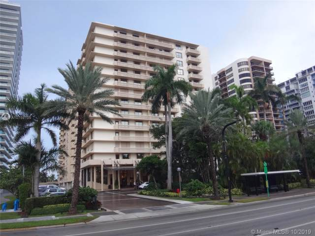 10185 Collins Ave #214, Bal Harbour, FL 33154 (MLS #A10759105) :: Grove Properties