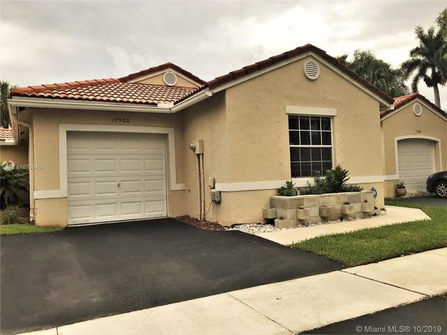 17980 SW 11th Ct, Pembroke Pines, FL 33029 (MLS #A10759401) :: The Erice Group