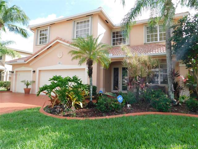 665 Sw 168 Th Way, Pembroke Pines, FL 33027 (MLS #A10759713) :: United Realty Group