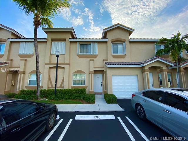 2220 SE 24th Pl #2220, Homestead, FL 33035 (MLS #A10759764) :: Prestige Realty Group