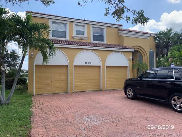 16862 SW 50th St, Miramar, FL 33027 (MLS #A10759844) :: The Teri Arbogast Team at Keller Williams Partners SW