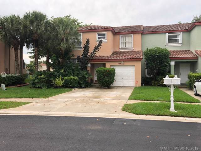 754 NW 154 Ave #754, Pembroke Pines, FL 33028 (MLS #A10760177) :: The Teri Arbogast Team at Keller Williams Partners SW