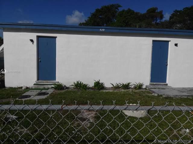 529 NW 15th Way, Fort Lauderdale, FL 33311 (#A10760226) :: Dalton Wade