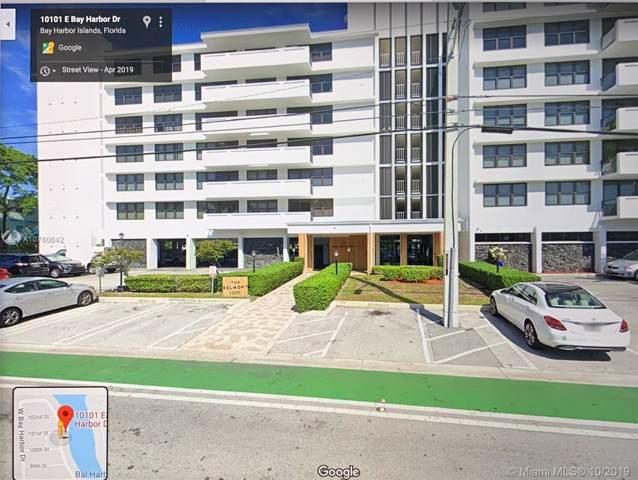 10101 E Bay Harbor Dr #702, Bay Harbor Islands, FL 33154 (MLS #A10760642) :: Lucido Global