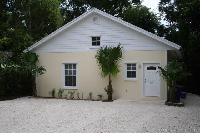 450 Lime Drive, Other City - Keys/Islands/Caribbean, FL 33037 (MLS #A10760778) :: Albert Garcia Team