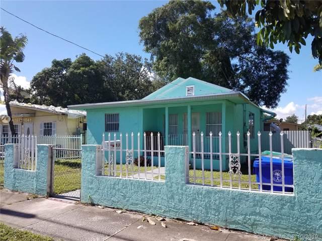 6810 NW 5th Pl, Miami, FL 33150 (MLS #A10761041) :: Prestige Realty Group