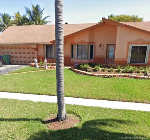 3569 SW 69th Way, Miramar, FL 33023 (MLS #A10761116) :: GK Realty Group LLC