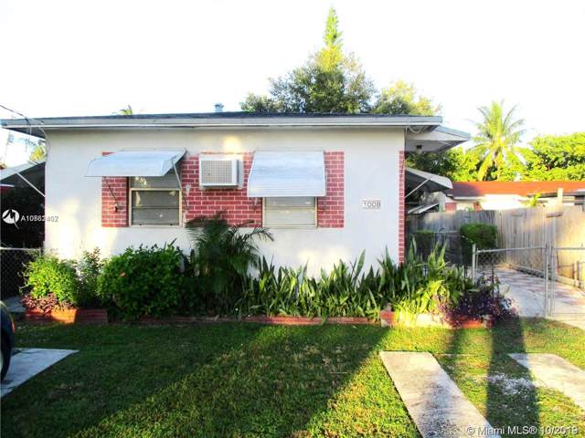 1008 N 22nd Ave, Hollywood, FL 33020 (MLS #A10761402) :: Albert Garcia Team