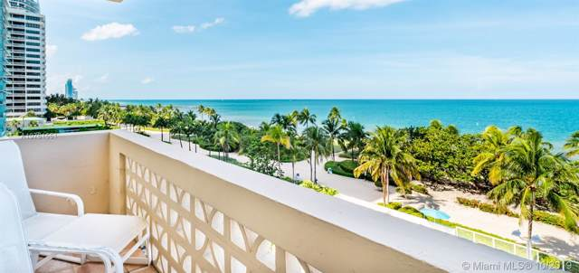 10185 Collins Ave #619, Bal Harbour, FL 33154 (MLS #A10761551) :: Green Realty Properties