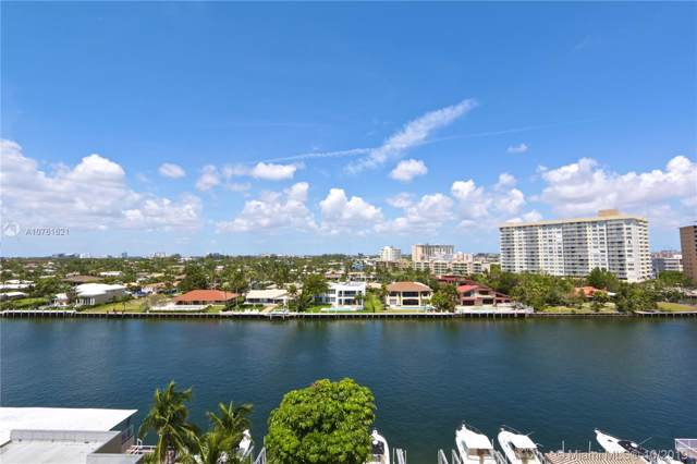 1965 S Ocean Dr 7R, Hallandale, FL 33009 (MLS #A10761621) :: RE/MAX Presidential Real Estate Group