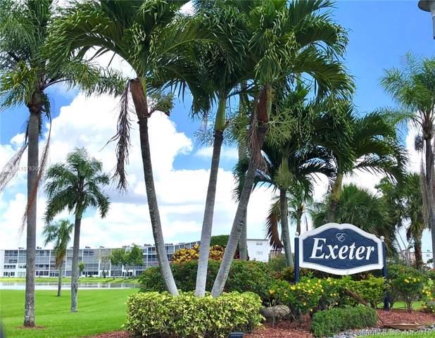 2070 Exeter D2070, Boca Raton, FL 33434 (MLS #A10762028) :: Laurie Finkelstein Reader Team