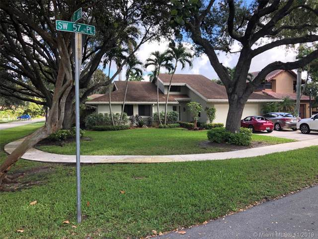 8695 SW 57th Pl, Cooper City, FL 33328 (#A10762436) :: Real Estate Authority