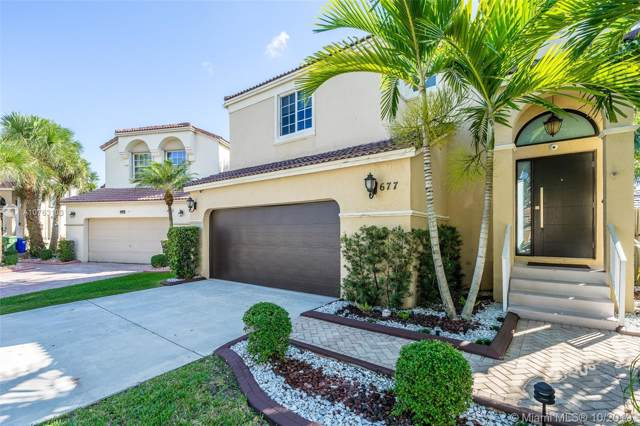 677 NW 157th Ave, Pembroke Pines, FL 33028 (MLS #A10763103) :: Laurie Finkelstein Reader Team
