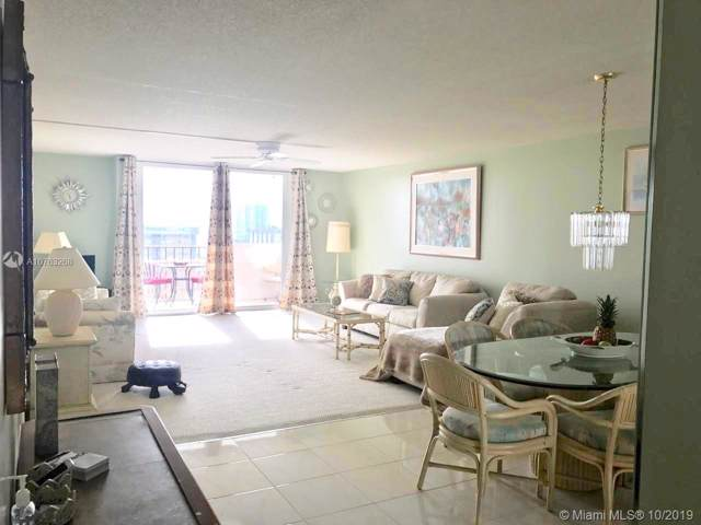 1865 S Ocean Dr 16K, Hallandale Beach, FL 33009 (MLS #A10763268) :: Patty Accorto Team