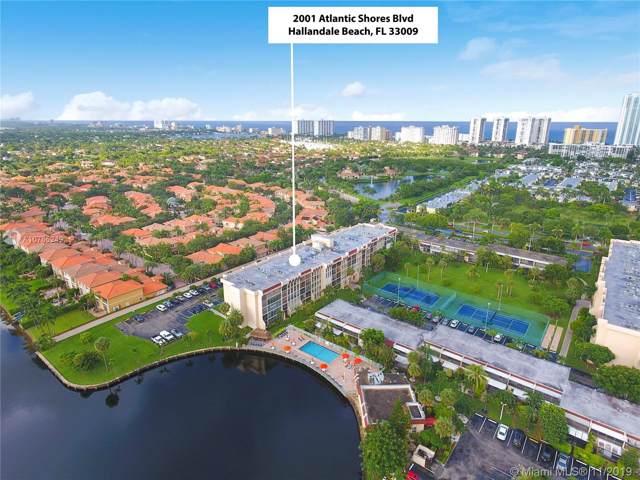 2001 Atlantic Shores Blvd. #318, Hallandale, FL 33009 (MLS #A10765249) :: Green Realty Properties