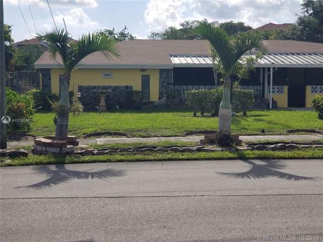 18921 NW 28th Pl, Miami Gardens, FL 33056 (MLS #A10765567) :: Berkshire Hathaway HomeServices EWM Realty