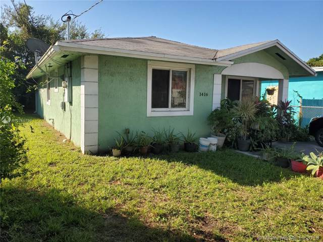 1416 NW 71st St, Miami, FL 33147 (#A10765796) :: Real Estate Authority