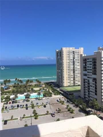 1865 S Ocean Dr 17F, Hallandale, FL 33009 (MLS #A10766212) :: Berkshire Hathaway HomeServices EWM Realty