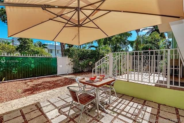 915 8th St #106, Miami Beach, FL 33139 (MLS #A10766388) :: Berkshire Hathaway HomeServices EWM Realty