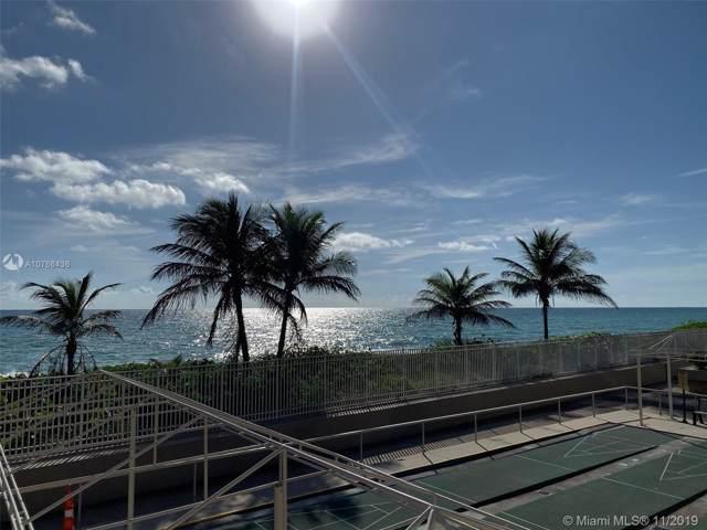 1980 S Ocean Dr 7J, Hallandale, FL 33009 (MLS #A10766436) :: Castelli Real Estate Services