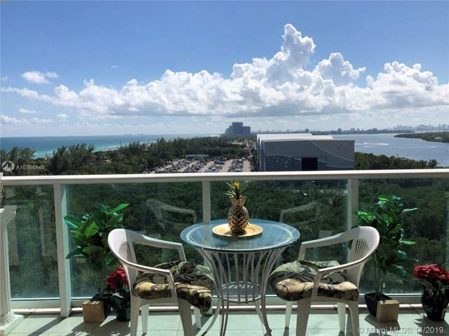 100 Bayview Dr #1123, Sunny Isles Beach, FL 33160 (MLS #A10766446) :: The Riley Smith Group