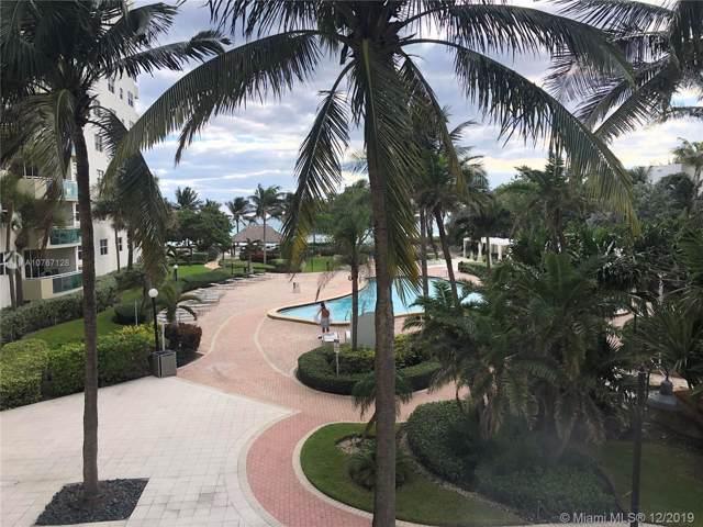 3001 S Ocean Dr #225, Hollywood, FL 33019 (MLS #A10767128) :: Patty Accorto Team