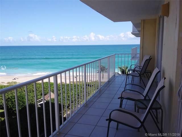 500 Ocean Drive E-7-A, Juno Beach, FL 33408 (MLS #A10767284) :: GK Realty Group LLC