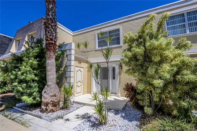2217 NE 7th St #21, Hallandale, FL 33009 (MLS #A10767498) :: RE/MAX Presidential Real Estate Group