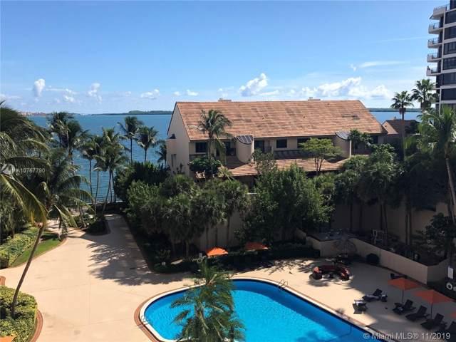 540 Brickell Key Dr #603, Miami, FL 33131 (MLS #A10767790) :: Berkshire Hathaway HomeServices EWM Realty