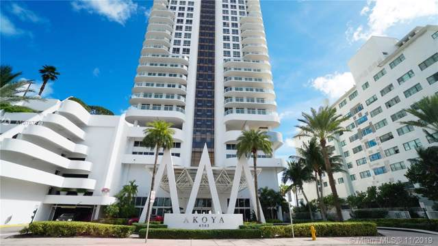 6365 E Collins Ave #806, Miami Beach, FL 33141 (MLS #A10767839) :: United Realty Group