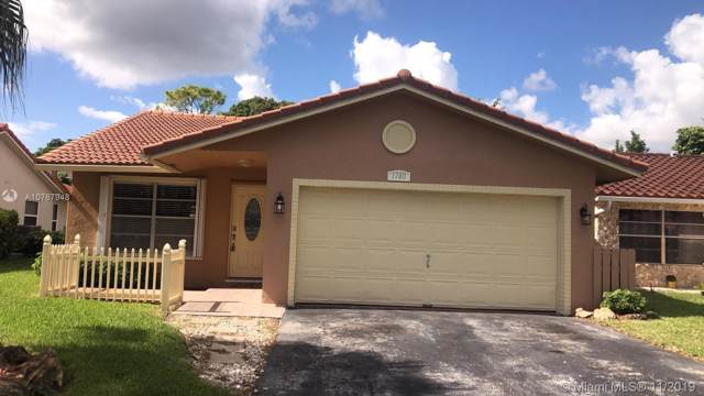 1780 NW 93rd Ter, Coral Springs, FL 33071 (MLS #A10767948) :: Berkshire Hathaway HomeServices EWM Realty