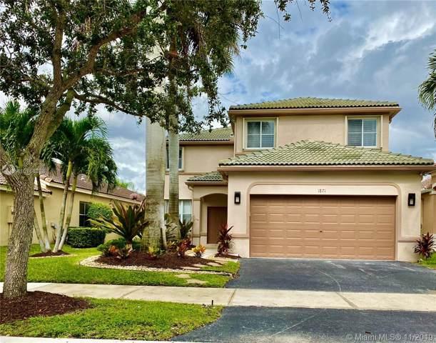 1871 Silverbell Ter, Weston, FL 33327 (MLS #A10768288) :: Green Realty Properties