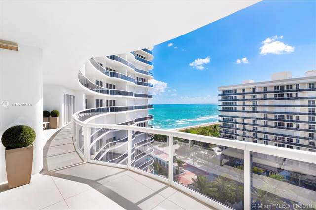 9601 Collins Ave #1009, Bal Harbour, FL 33154 (MLS #A10769016) :: Green Realty Properties