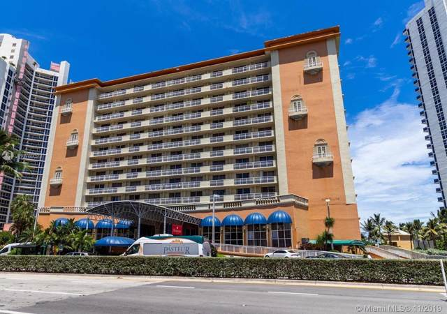 19201 Collins Ave #732, Sunny Isles Beach, FL 33160 (MLS #A10769323) :: Grove Properties