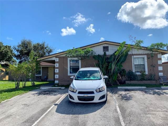 2860 SW 1st St, Fort Lauderdale, FL 33312 (MLS #A10770016) :: Albert Garcia Team