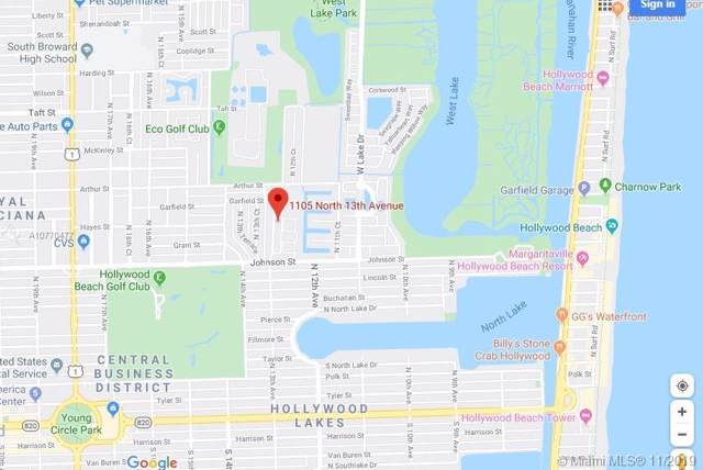 1105 N 13th Ave, Hollywood, FL 33019 (#A10770477) :: Real Estate Authority
