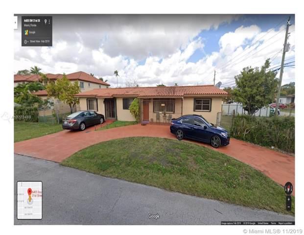 6405 SW 31st St, Miami, FL 33155 (MLS #A10770489) :: The Teri Arbogast Team at Keller Williams Partners SW
