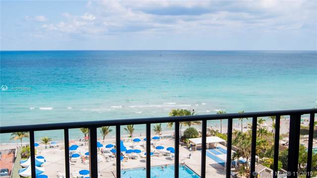 2030 S Ocean Dr #916, Hallandale, FL 33009 (MLS #A10770628) :: The Riley Smith Group