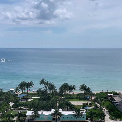 1865 S Ocean Dr 19N, Hallandale, FL 33009 (MLS #A10770848) :: Berkshire Hathaway HomeServices EWM Realty