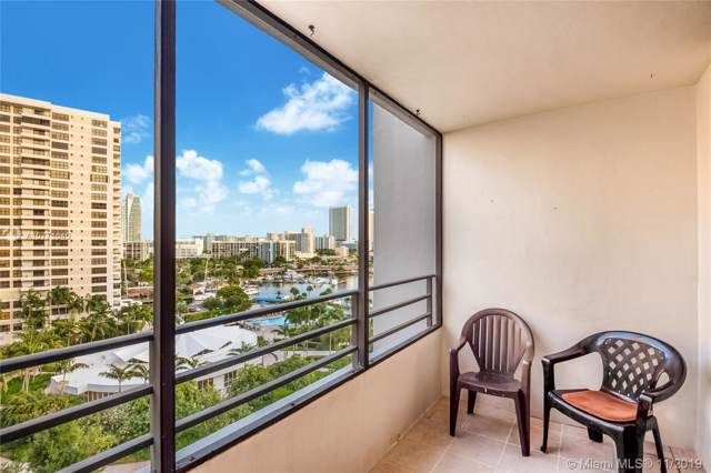 600 Three Islands Blvd #913, Hallandale, FL 33009 (MLS #A10771040) :: Berkshire Hathaway HomeServices EWM Realty
