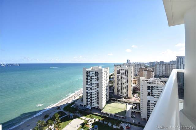1850 S Ocean Dr #2705, Hallandale, FL 33009 (MLS #A10771843) :: The Riley Smith Group