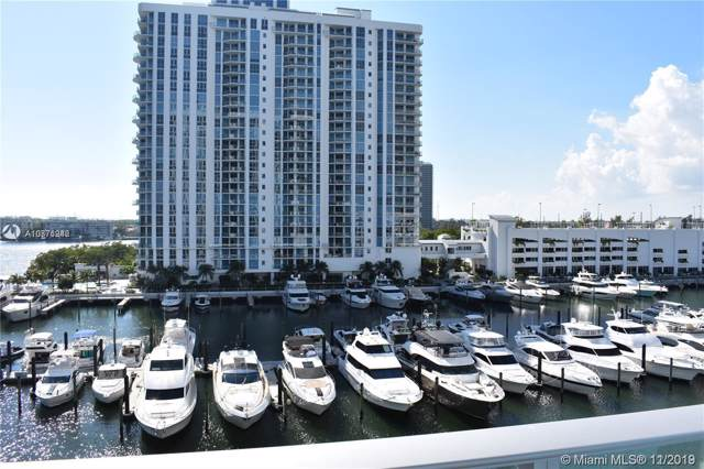 17301 Biscayne Blvd #607, Miami, FL 33160 (MLS #A10771942) :: The Riley Smith Group