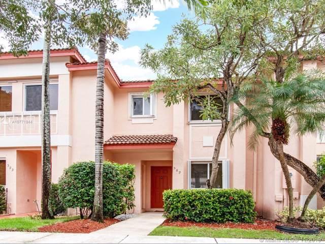 589 NW 208th Way #1, Pembroke Pines, FL 33029 (MLS #A10771944) :: Green Realty Properties