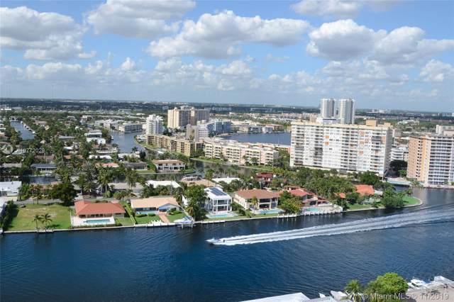 1985 S Ocean Dr 22E, Hallandale, FL 33009 (MLS #A10772029) :: Castelli Real Estate Services