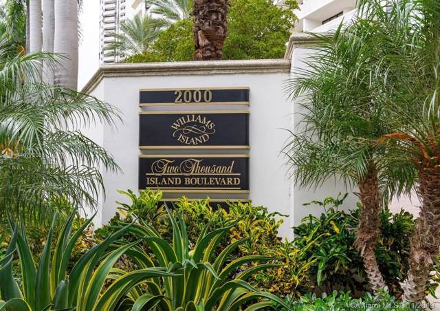 2000 Island Blvd #1802, Aventura, FL 33160 (MLS #A10772088) :: The Riley Smith Group