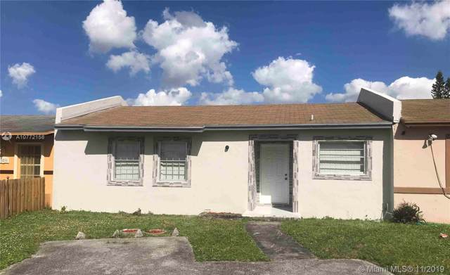 20210 NW 28th Ct -, Miami Gardens, FL 33056 (MLS #A10772158) :: The Jack Coden Group