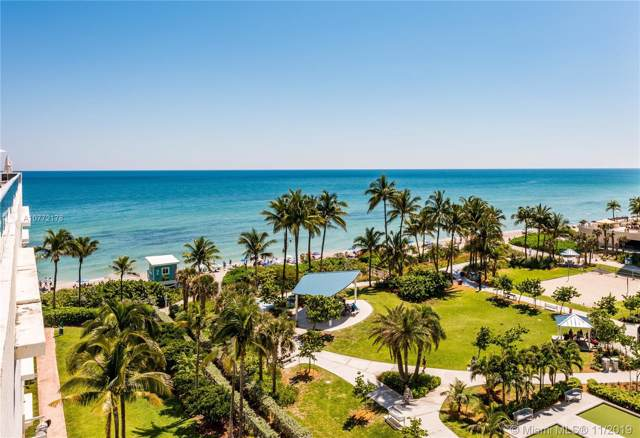 1850 S Ocean Dr #706, Hallandale, FL 33009 (MLS #A10772178) :: The Riley Smith Group