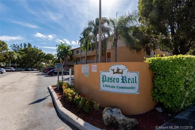 6205 Kendale Lakes Cir #289, Miami, FL 33183 (MLS #A10772313) :: Green Realty Properties