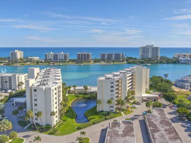 19800 Sandpointe Bay Dr #203, Tequesta, FL 33469 (MLS #A10772658) :: Green Realty Properties