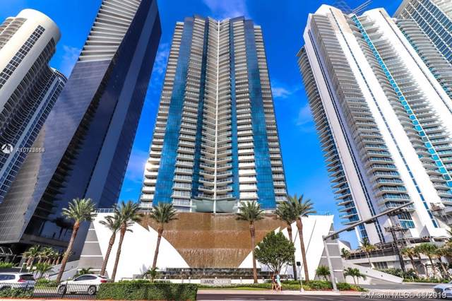17121 Collins Ave #2805, Sunny Isles Beach, FL 33160 (MLS #A10772819) :: Grove Properties